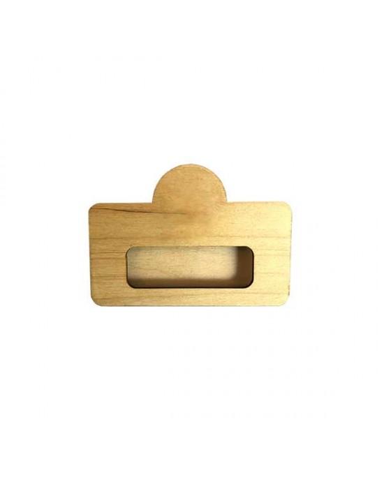 Дървен бадж