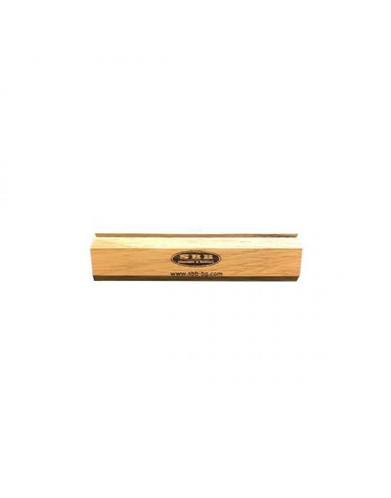 Дървена поставка за табелка