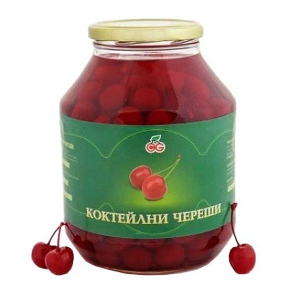 Cocktail Cherries with Stems 1700ml