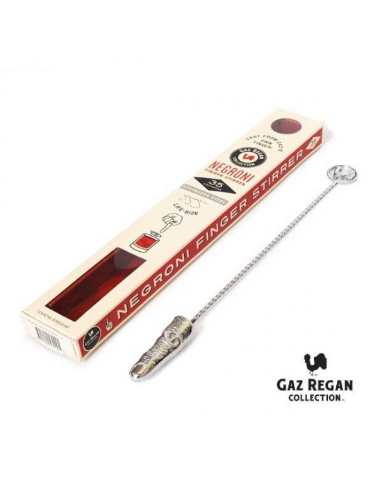 Барова бъркалка с пръст 35см - Cocktail Kingdom