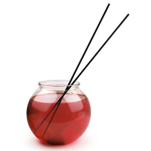 Long straws 45cm Black 25 pieces