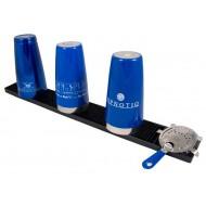 Бар мат 10x70cm Черен - The Bars