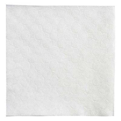White Napkins 33/33  400pcs. bleached cellulose