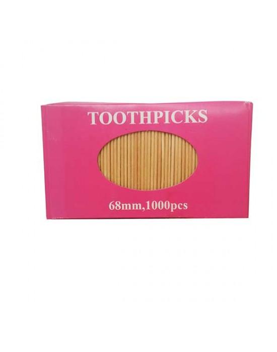 Клечки за зъби - обикновени 1000 бр