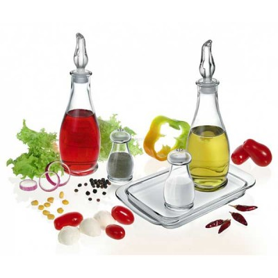 Бутилка за олио/оцет с лиек - Indro - Borgonovo