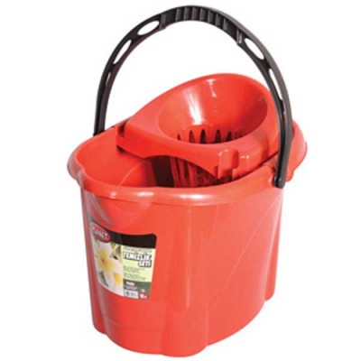 Bucket with a Strainer