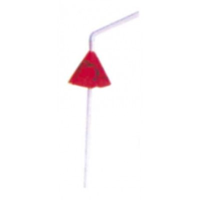 Коктейлна украса - сламка с чадър 50 бр.