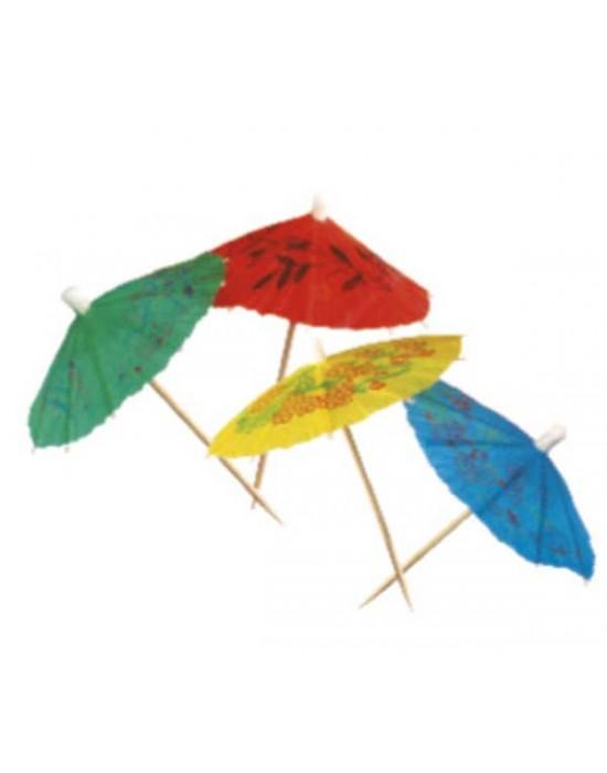 Коктейлна украса - чадърчета 144 бр.