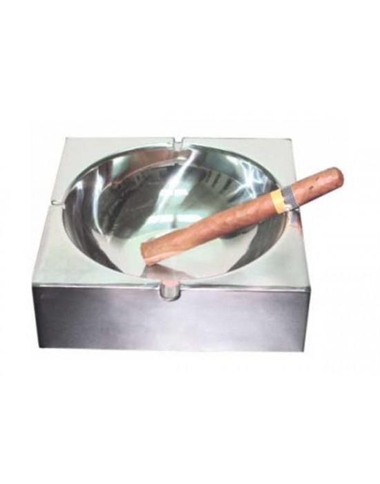 Пепелник за Бар Квадратен - метал 19,5/19,5cm