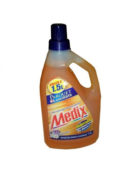Почистващ препарат за ламинат и паркет Medix, 1.5 л.