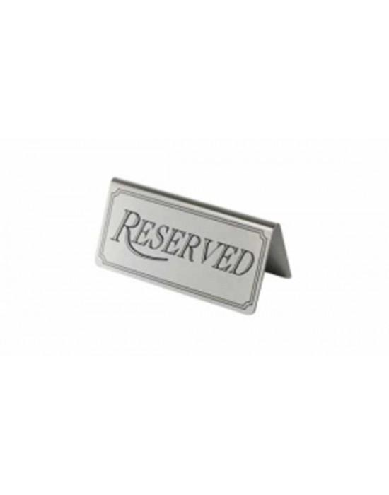 Табелка Reserved