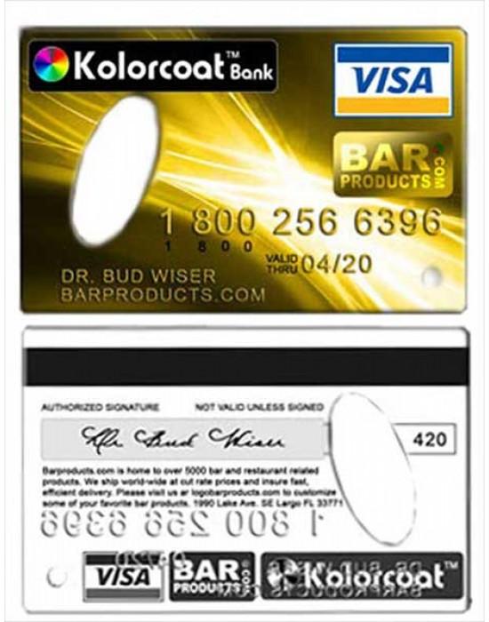 Отварачка - кредитна карта