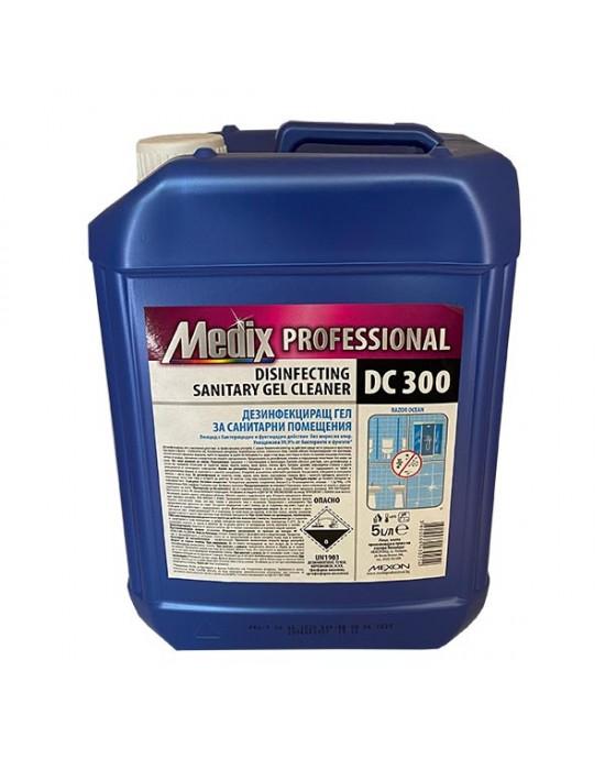 MEDIX Дезинфекциращ гел за санитарни помещения 5 л.